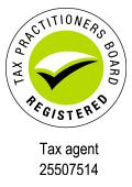 Registered Australian tax agent 25507514