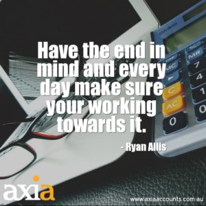 bookkeeping business thought of the day