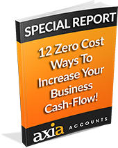 Axia Accounts - 12 Zero Cost Ways Cashflow Report